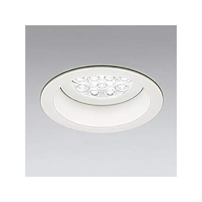 LEDダウンライト M形 φ125 HID35W形 LED12灯 配光角:74°連続調光 本体色:オフホワイト 温白色形 3500K B07RZNVCQN