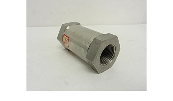 Circle Seal 249T-8PP Check Valve 1 FNPT 0-3000PSI