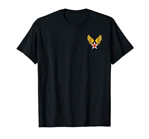 United States Army Air Corps Wings Logo Tshirt
