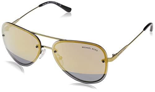 Michael Kors MK1026 11681Z Pale Gold La Jolla Pilot Sunglasses Lens Category ()
