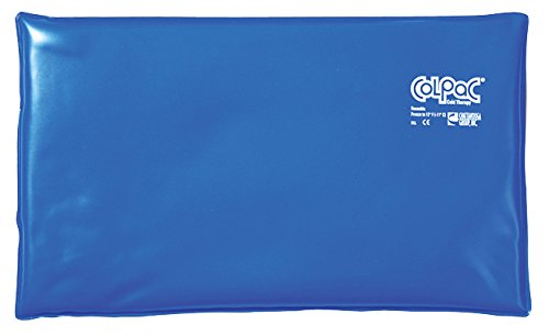 Colpac Blue Vinyl Cold Pack - Oversize - 11'' X 21'' - 12 Each / Case - 00-1512-12