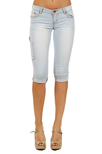 2608 Womens Stretch Jeans Capri Ultra Comfortable and Amazingly Versatile 11