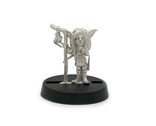 Stonehaven Gnome Girl Miniature Figure (for 28mm Scale Table Top War Games) - Made in USA