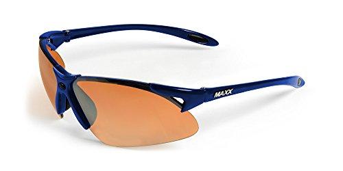 2017 Maxx Sunglasses TR90 Maxx 2 HD Blue Amber - Maxx Sunglasses