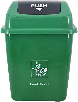 ごみ箱 ふたと分類されるゴミ箱屋外のプラスチック公衆衛生のバケツの農村公園の通りの不用な大箱