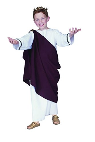 OvedcRay Ceaser Roman Toga Child Costume Julius Caesar The Great Greek God Costumes