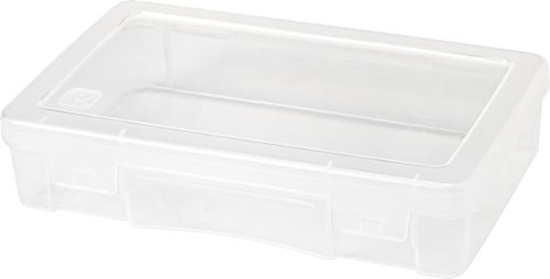 IRIS Medium Modular Supply Case, Clear