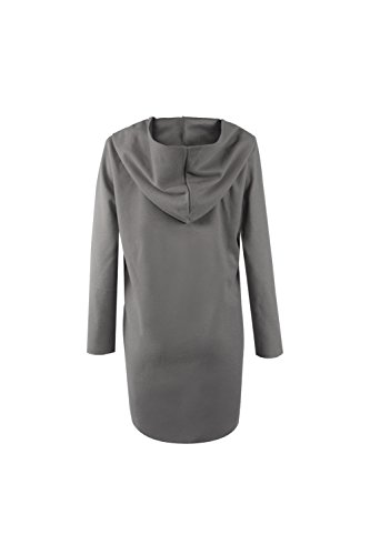 Est Longueur Automne Sweat Shirts Femme La La Veste Chaud Hiver Des Avec 5f7nqw