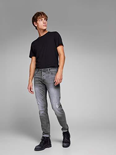Jones Jeans Jack Slim Uomo Blu amp; FY4q6