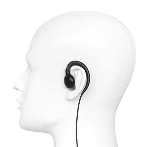 10 Pack BOMMEOW BSE12-M12 C-Shape Swivel Style Earpiece Headset for Motorola Radio SL300 SL500 SL7550 SL7580 by Bommeow (Image #5)
