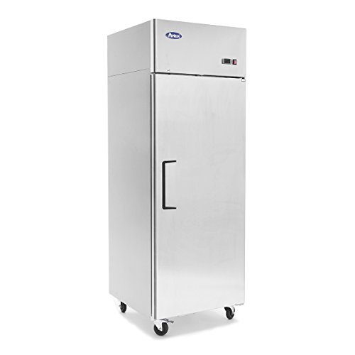 Atosa MBF8001 Top Mount 1-Door Upright Freezer 2 Year PARTS + LABOR / 5 Year Compressor WARRANTY by Atosa