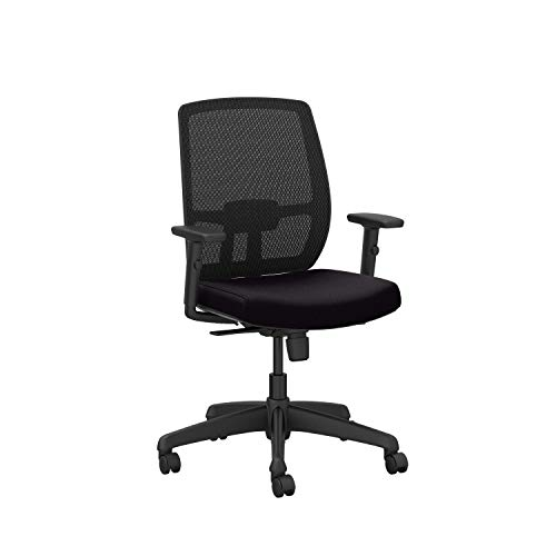 Mesh Office Chair - Ergonomic Computer, Gaming, and Office Chair with Adjustable Arms and Lumbar Support, Black, 3139094CS