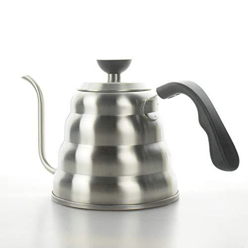 AQANATURE - Cafetera de acero inoxidable 304 con forma de tetera ...