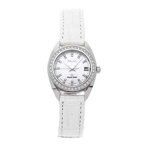 Quartz (Battery) Mother-of-Pearl Dial Womens Watch  (Certified Pre-Owned) - Grand Seiko STGF091