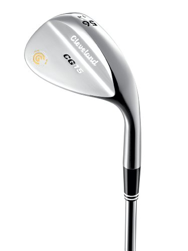 Cleveland CG15 Satin Chrome Trac Tour Zip Wedge (Right Hand, Steel, 52 ()