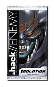 - Dot .Hack//Enemy Trading Card Game Isolation Booster Pack by Decipher