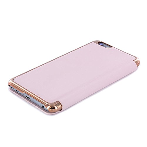 Ted Baker Branded iPhone 6S Plus Case, Official Ted Baker Branded iPhone 6S / 6 Plus Case with Rose Gold Finish, Professional Women's Case For iPhone 6S Plus - KADIA Nude / Rose Gold