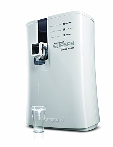 Eureka Forbes Aquaguard Superb 6.5-Litre Table Top/Wall Mountable RO+UV+UF+MTDS White Water Purifier