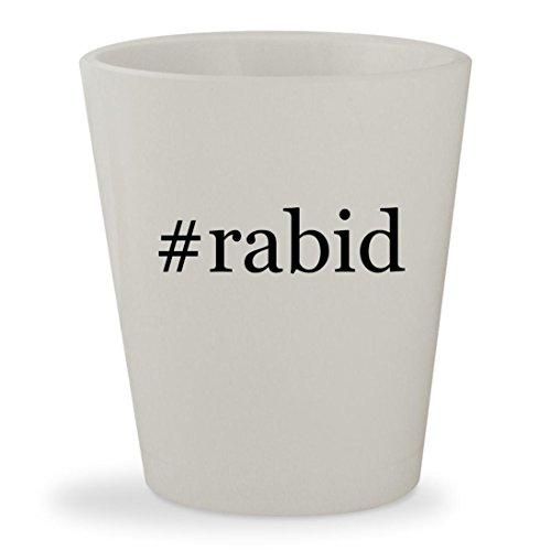 #rabid - White Hashtag Ceramic 1.5oz Shot - Zangle Sunglasses