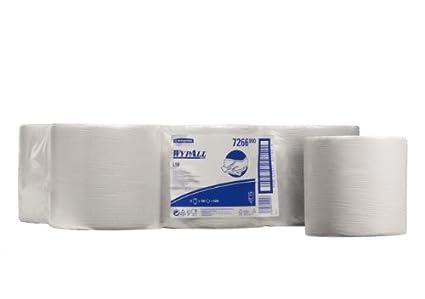 Kimberly-clark caja de 6 bobinas industriales de toallas papel 600 servicios blanca l10: Amazon.es: Industria, empresas y ciencia