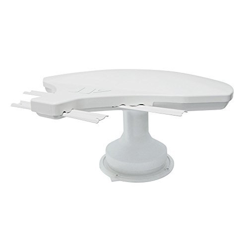 Winegard RZ-6000 Rayzar z1 RV TV Antenna (HD, Digital, 4K Ready, ATSC 3.0 Ready) - White ()
