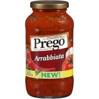 Prego Arrabbiata Sauce, 100% Natural Italian, 24 oz (Pack of 12)