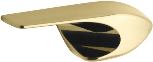 Polished Brass Trip Lever (KOHLER K-9404-L-PB Left Hand Trip Lever, Vibrant Polished Brass)