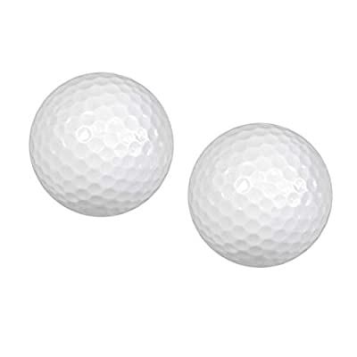 Baosity 2Pcs Portable Floating Golf Balls Floaters Golf Water Float Water Range for Water Golf Course Practice