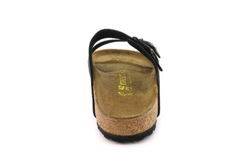 Birkenstock Arizona - Herren / Männer Schwarze Doppel Riemen Sandalen Mit Verstellbaren Schnallen