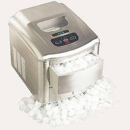 Whynter T-2M SNO Portable Ice Maker, Stainless Steel Brus...
