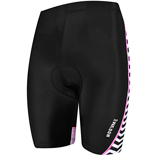 (NOOYME Padded Bike Shorts Women 3D Padding Bicycle Womens Cycling Shorts (X-Large,)