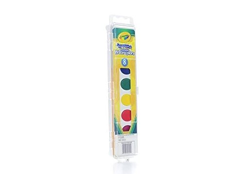 Crayola Washable Watercolors count 53 0525