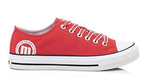 Sneaker Mtng 3 C45988 13991 Donna Coral canvas Rosso fFqn5FrAw