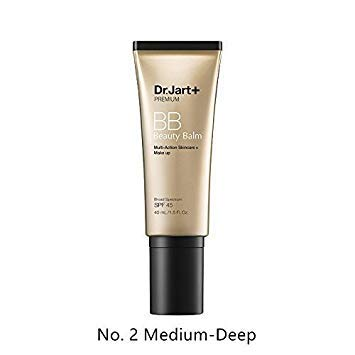 Dr.Jart Premium Beauty Balm SPF 45 (02 MEDIUM-DEEP) (Best Procedure For Acne Scars And Large Pores)