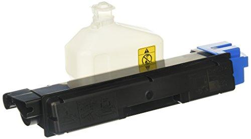 Kyocera 1T02KTCUS0 Model TK-582C Cyan Toner Kit for FS-C5150DN/P6021CDN; Genuine Kyocera; Up to 2800 Pages