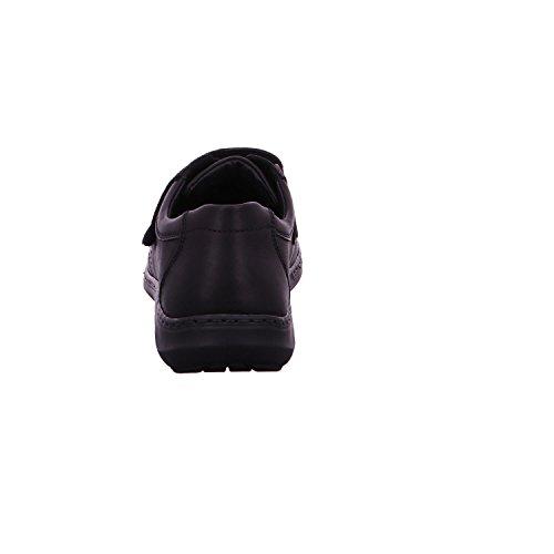 Waldläufer 478301-174-001 - Mocasines para hombre Negro - negro
