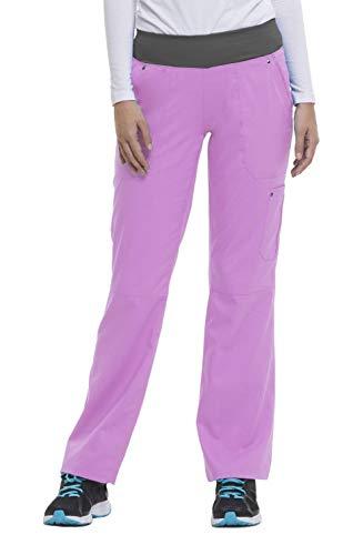 - healing hands Purple Label Yoga Women's Tori 9133 5 Pocket Knit Waist Pant Soft Violet/Pewter- X-Large