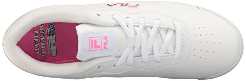 Fila Viable Memory Women's sugar white Walking white Shoe plum nccC7d