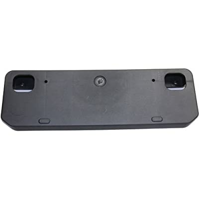 Perfect Fit Group REPT017322 - 4Runner Front License Plate Bracket, Textured, W/O Chrome Trim: Automotive