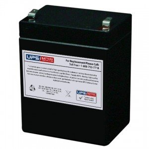 PBQ 2.9-12 12V 2.9Ah Sealed Lead Acid Battery Replacement with F1 Terminals UPS Battery Center PBQ-2.9-12-batt