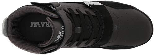 Breaker 070 a Uomo Supra Alto black Black Sneaker Collo Grey Lt Nero BUdwaqZ