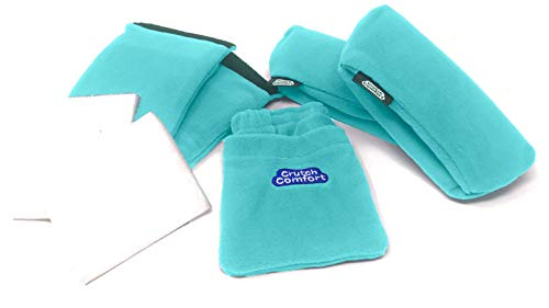 "Universal Crutch 5-Piece""Get Well Soon"" Gift Bundle (Turquoise)"
