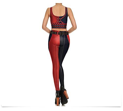 Easy Go Shopping Mujer Leggings Super Hero Sexy Raya Leggings Impreso Legging para Mujer Yoga Pantalones 3D Impresos Deporte leggeings
