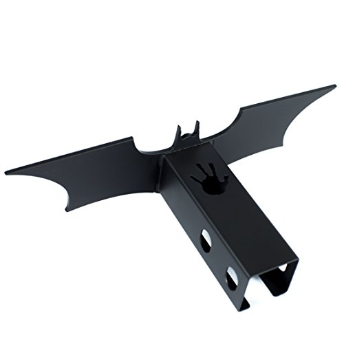 Batman The Dark Knight Trailer Hitch Cover Black