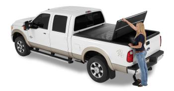 Bestop 16113-01 EZ Fold Truck Tonneau Cover for Ford F150 Styleside Crew Cab/Super Cab, 5.5′ Bed, EXCEPT Heritage, 2004-2012