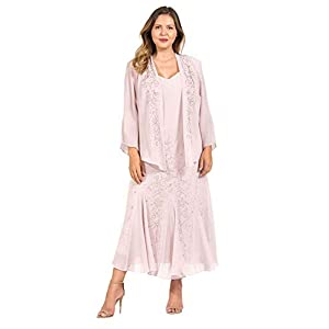 1ed0bf56f4d R M Richards Long Mother of The Bride Plus Size Dress Made in USA Mauve