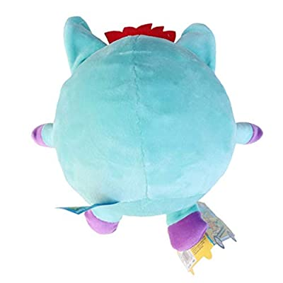 Toy Girls Plush (Bonus Mini Rubix Cube) Crunchimals 6 inch Bibi Crunch crunchable Stuffed Animals Plush Snuggle Buddy Cuddly Soft Dolls Gift (Umeko Unicorn): Toys & Games