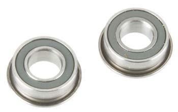 Ceramic Nitride Bearing 4x8mm Flanged (2) ()