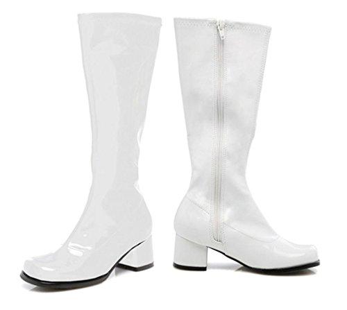 WMU Go Go Boot Child Size 1 White