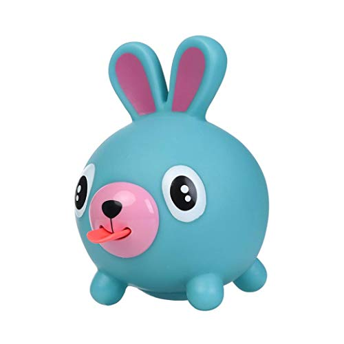 Livoty Cute Tongues Alternative Humorous Toys Squeeze Stress Relieve Light Hearted Funny Toy (Blue)